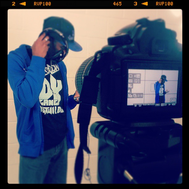 Photoshoot for new #Freesound Artist Collection with #Shaodow and #ONEWAYTVENT