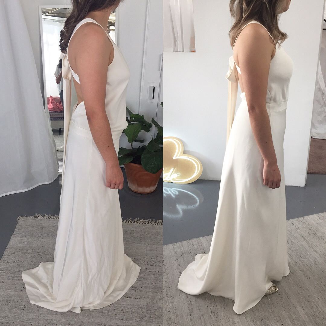 fd3b59ff1a6 Wedding Dresses Before And After Alterations - Gomes Weine AG