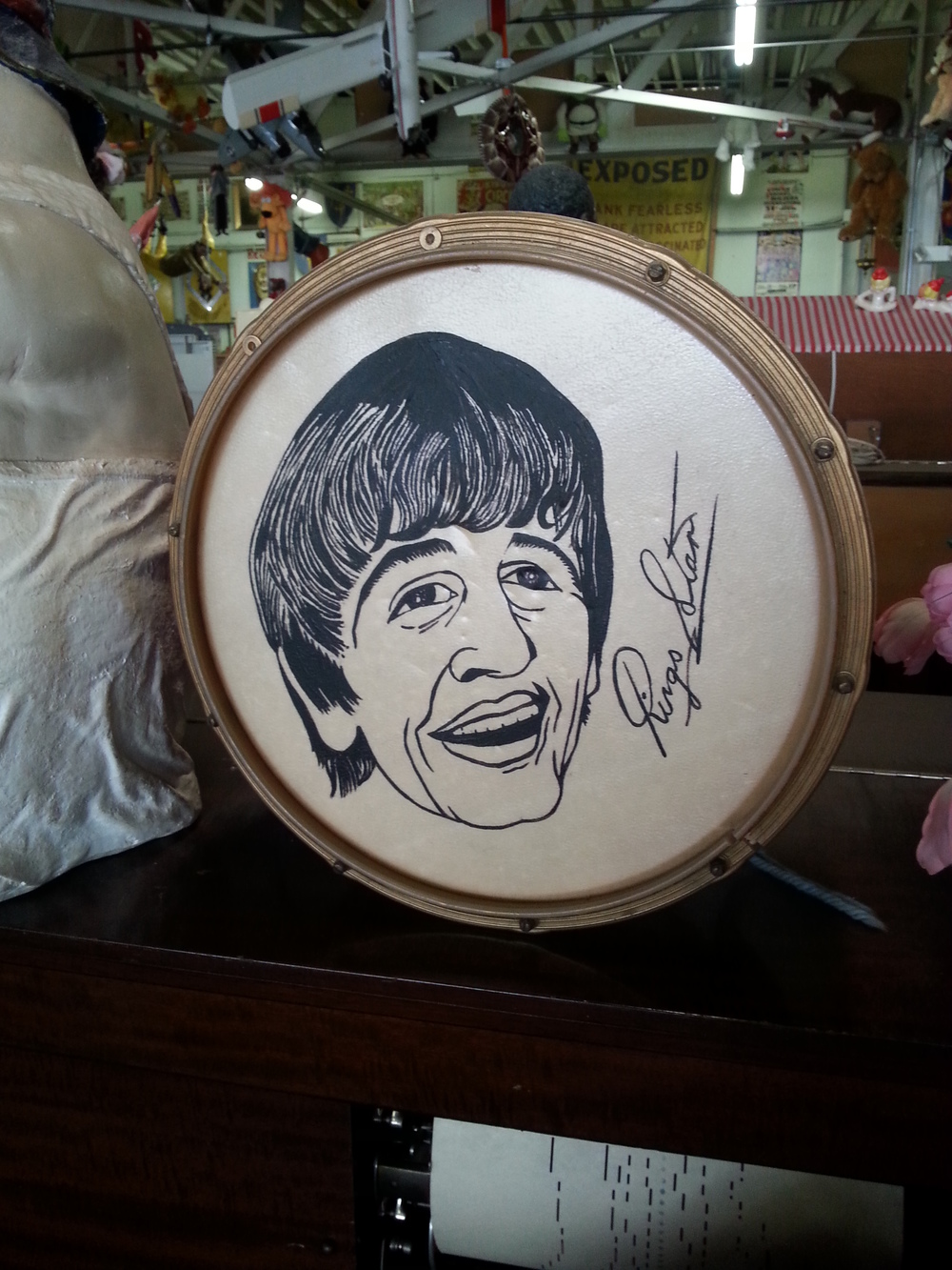 Can you find the Ringo drum at the American Treasure Tour?