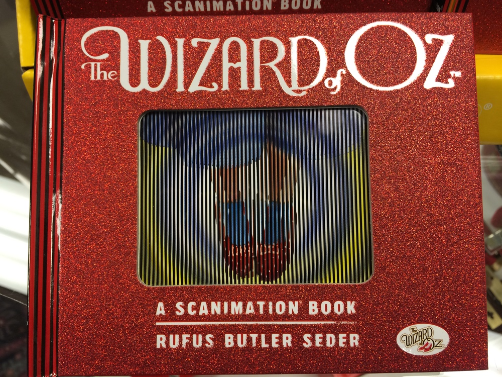 Not only does the American Treasure Tour have Wizard of Oz items on display, we also have this really cool book in our gift shop!