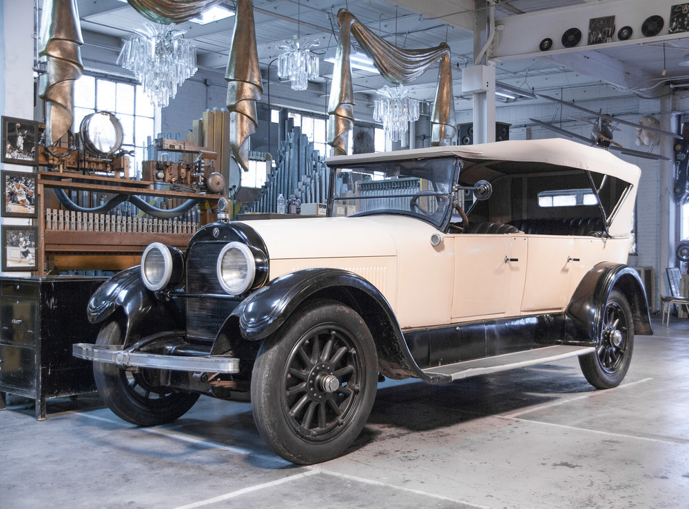 Our gorgeous 1924 Cadillac Sedan