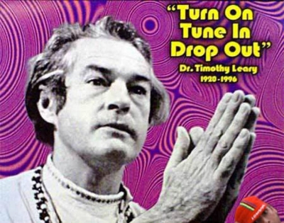 "Timothy Leary officially ""dropped out"" at age 75 from pancreatic cancer.   The answer to the Curly Trivia Question is ...  a. basketball    Who'd have thunk it?"