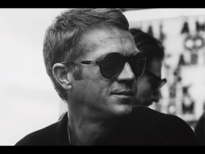 Steve McQueen (one of our favorites here at the American Treasure Tour.)