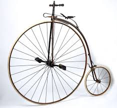 The first two-wheeled vehicles did not have pedals or chains. The rider sat  between wheels and used his legs to propel the machine. Simple enough ... 0aeecc5dc