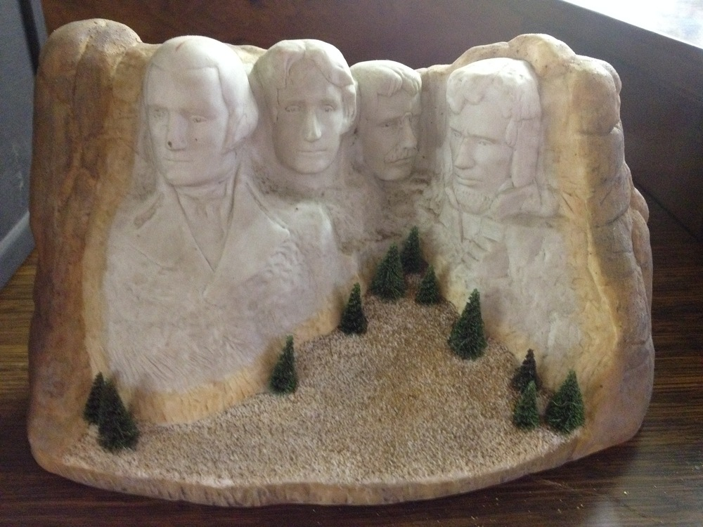 This is not THE Mount Rushmore, but definitely A Mount Rushmore.