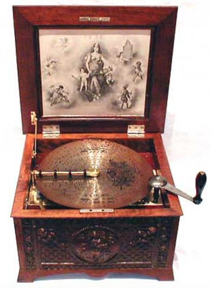 Disc-Playing Machine in the MBSI Collection
