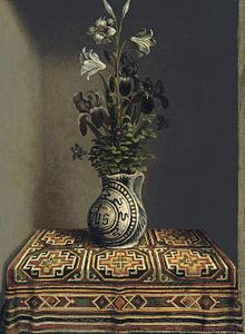 Hans Helming Vase of Flowers (1480)