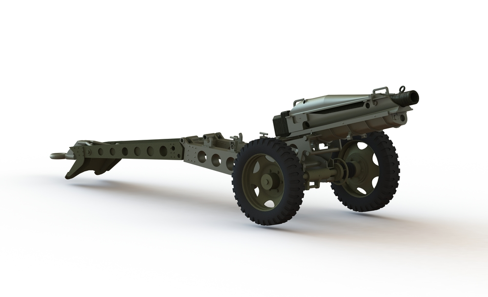 Pack Howitzer Signal Cannon