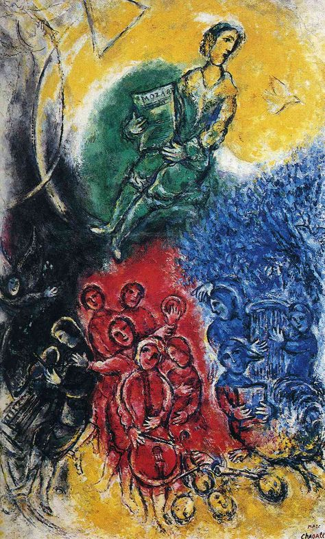 "Marc Chagall, ""The Music"" (1963)"