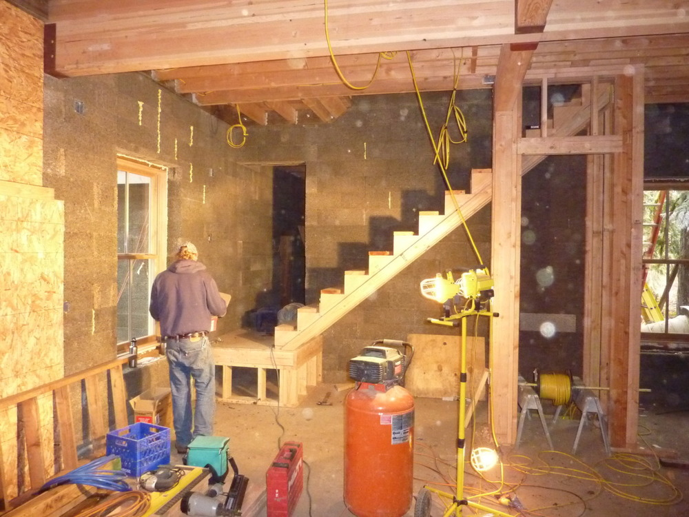 Stairs Go In