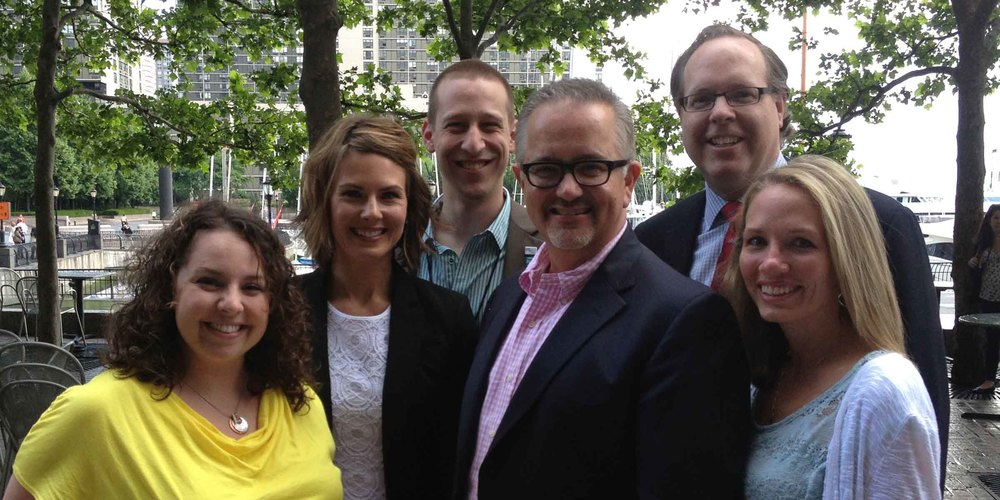 Lauren Doyle (far left) attended the 2013 Leadership Rally in New York City as part of her role as President-Elect. The annual gathering brings together PRSA leaders from around the country, like those pictured here, to learn from one another in preparation for their Presidency.