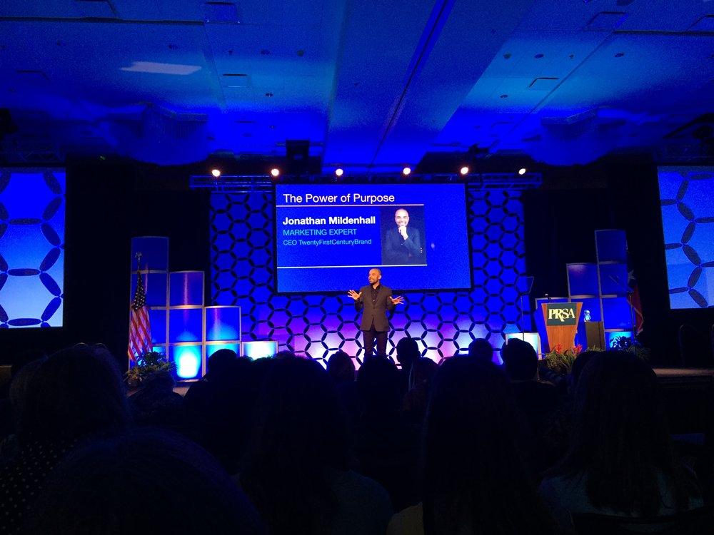2018 PRSA International Conference keynote