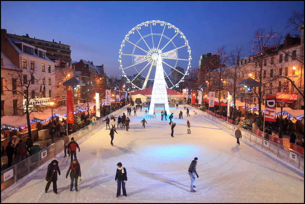 Place Ste. Catherine skating rink. Photo by Eric Danhier