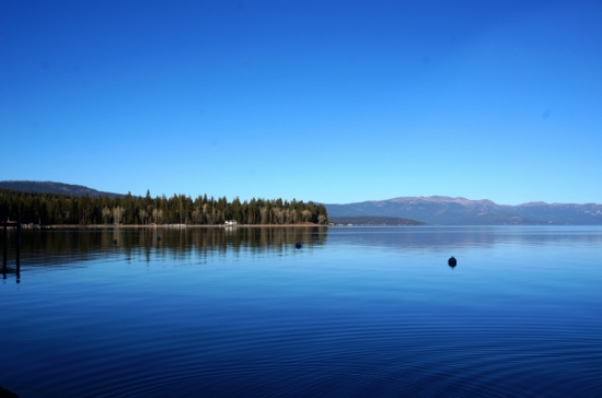 """The blue waters of Lake Tahoe, """"The Lake Of The Sky"""" 2014"""