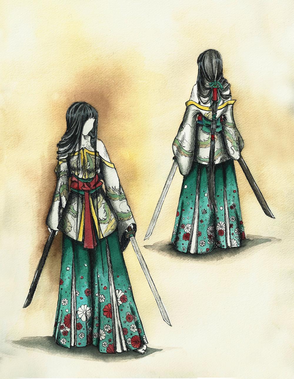 Samurai Geisha