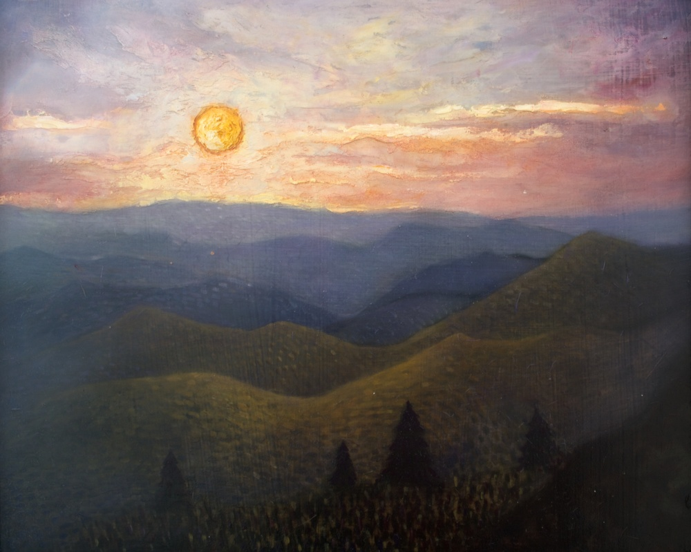 Sunset Along the Blue Ridge