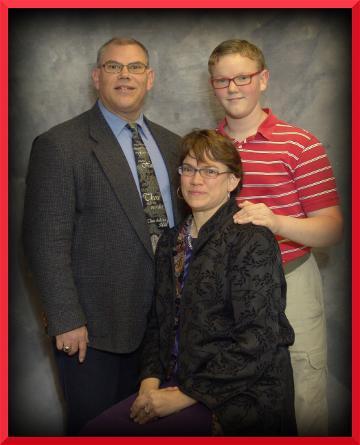 Timothy, Jane and Caleb Silcott