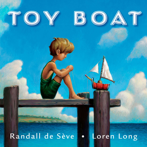 Toy Boat  - by Randall de Seve