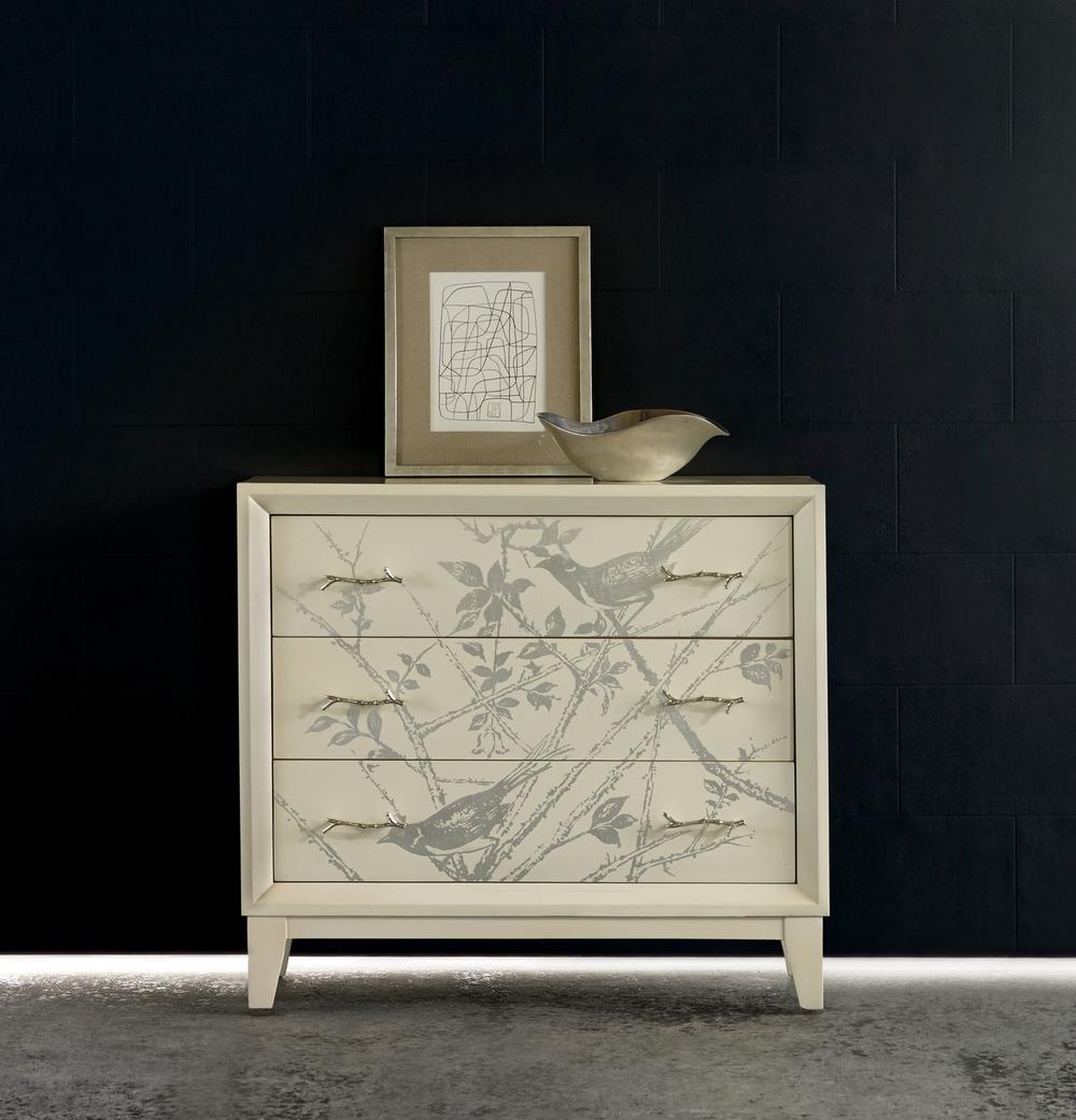 Silver Bird Chest Bonnie Kielwasser Melange Collection,               Hooker Furniture Corp.
