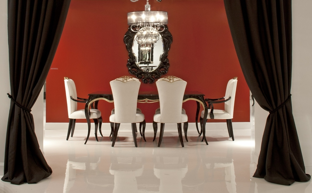 Cayenne Dining Chairs & Cynthia Dining Table Set Venusia Marfianty Alinea Home