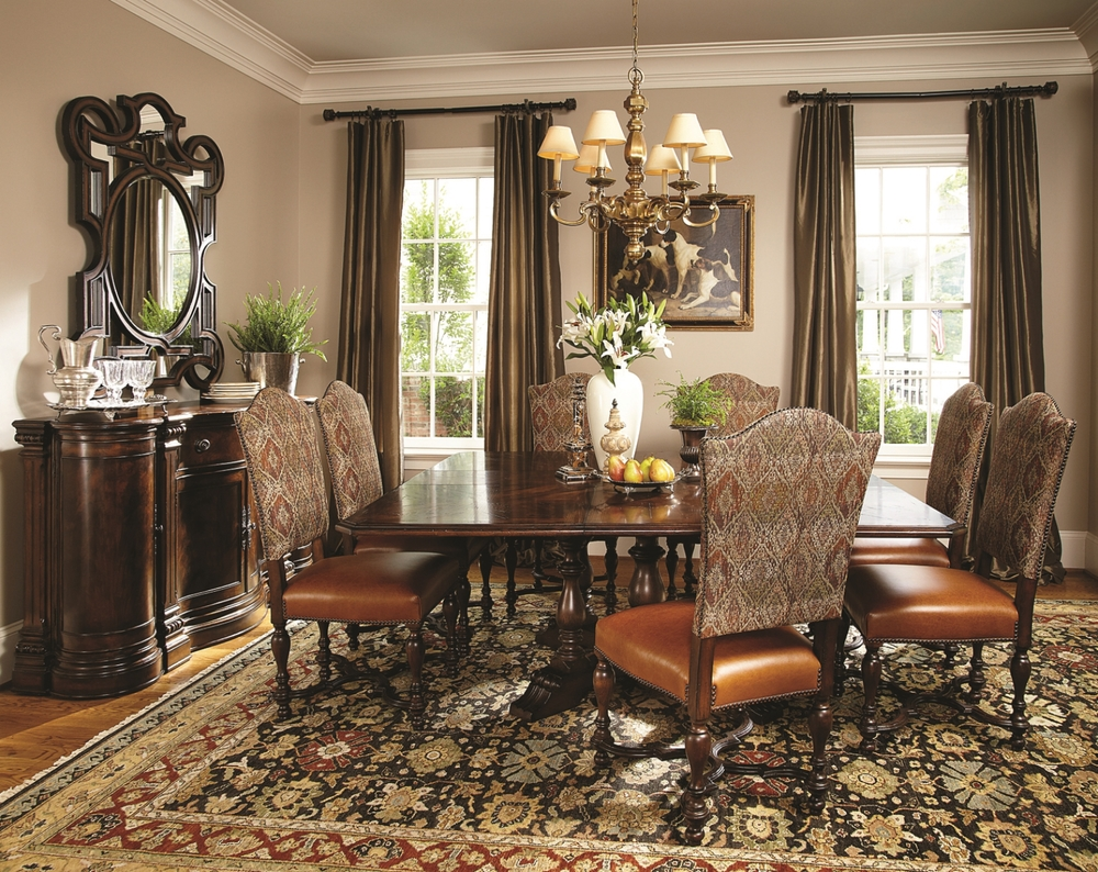 Hunt Club Dining Room Steven Russell The Biltmore Collection                             Fine Furniture & Design Marketing