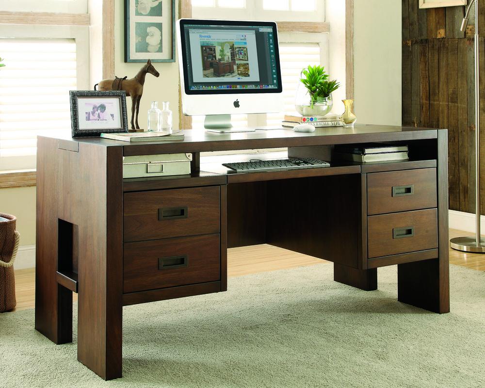 Terra Vista Desk Joel Calderone Riverside Furniture Corporation