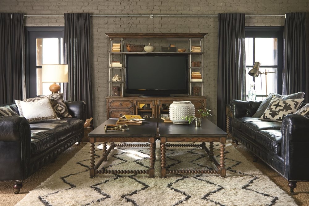 New Bohemian Collection Entertainment Dudley Moore, ASFD Lenny Chapman, ASFD Universal Furniture