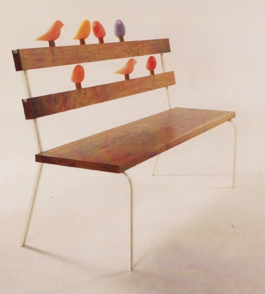 Bird Bench                        Kai-ning Huang, ASFD                   Savannah College of Art & Design