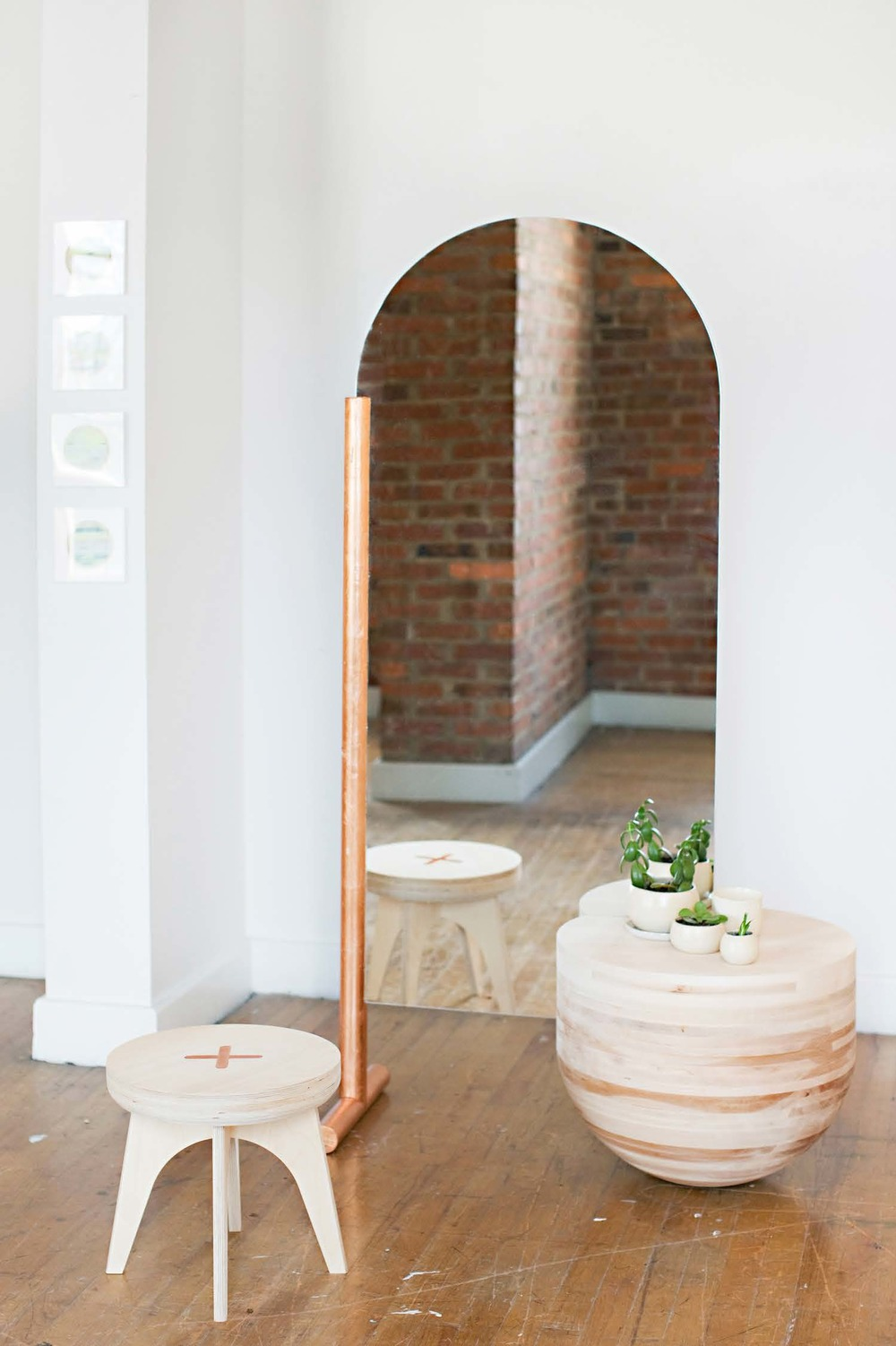 Wabi Sabi Mirror & Table