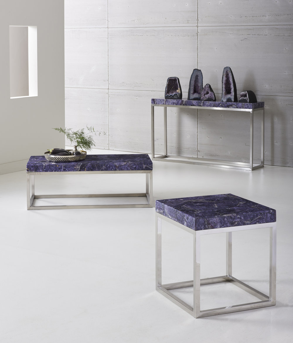 Amethyst Accent Tables