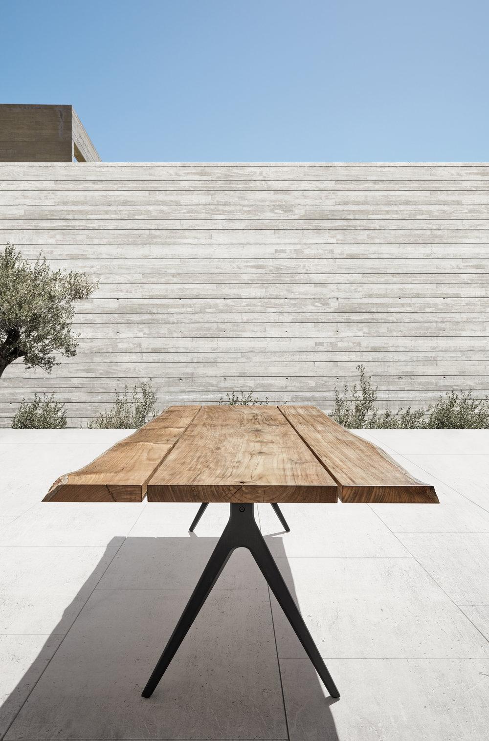 Split Raw Dining Table