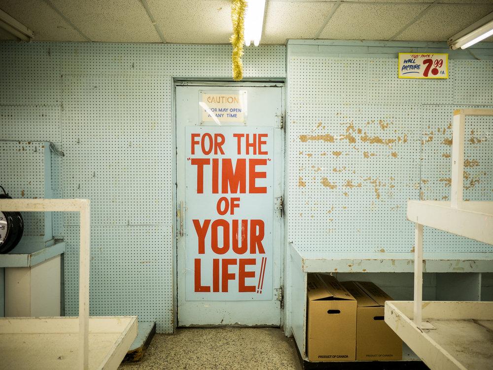 Honest Ed's final days: Part 1 (2016)