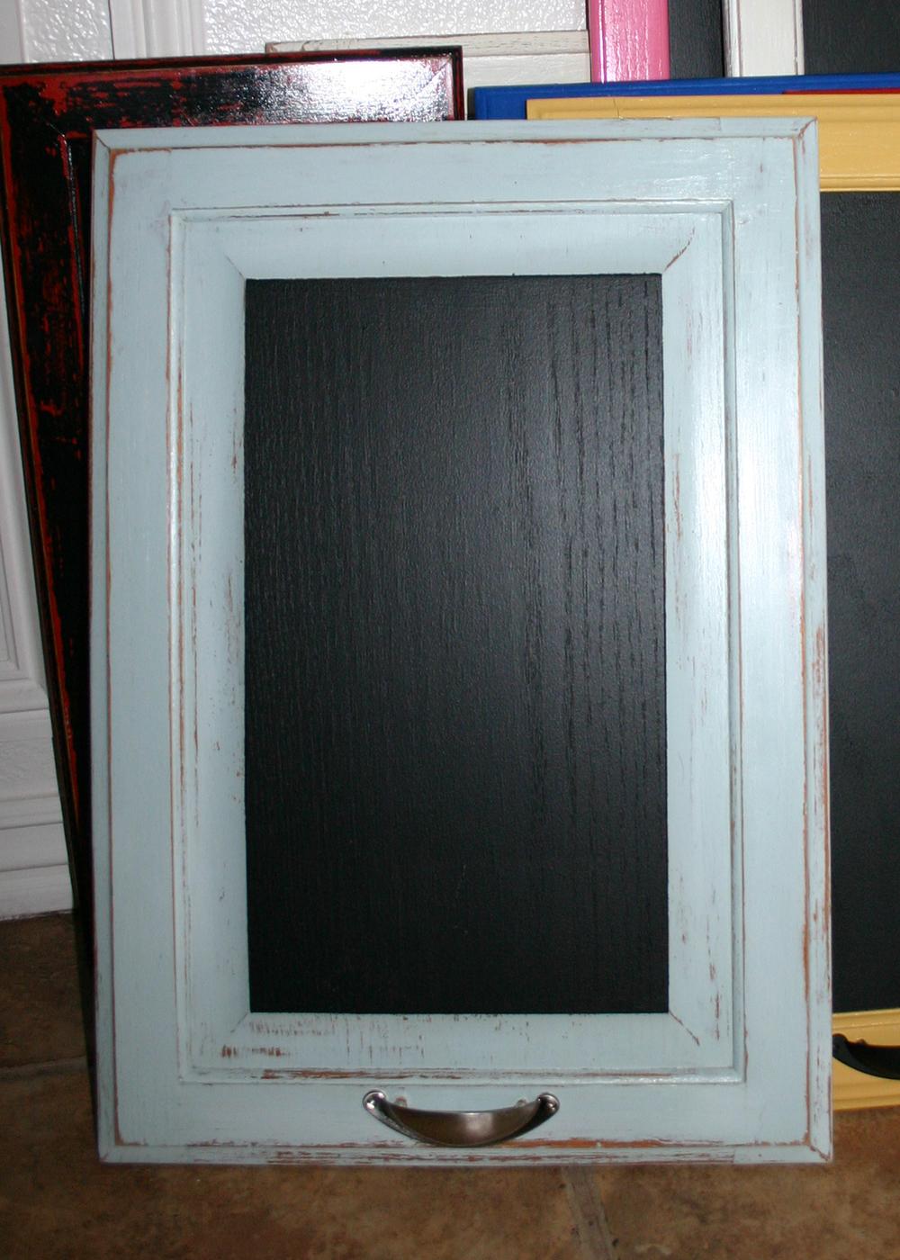 Cabinet Door Chalkboards Beckwith S Treasures