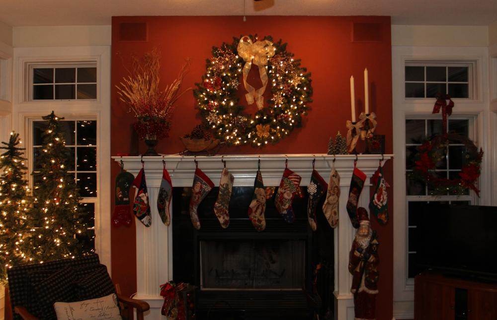Christmas wreaths Beckwiths Treasures