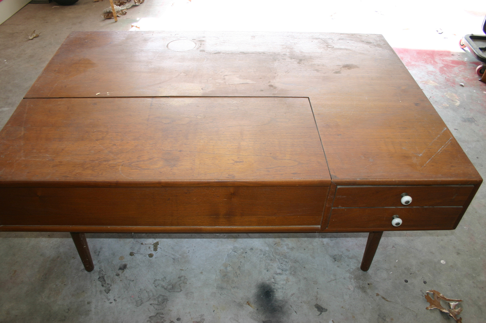 drexel declaration mid century coffee table — beckwith's treasures