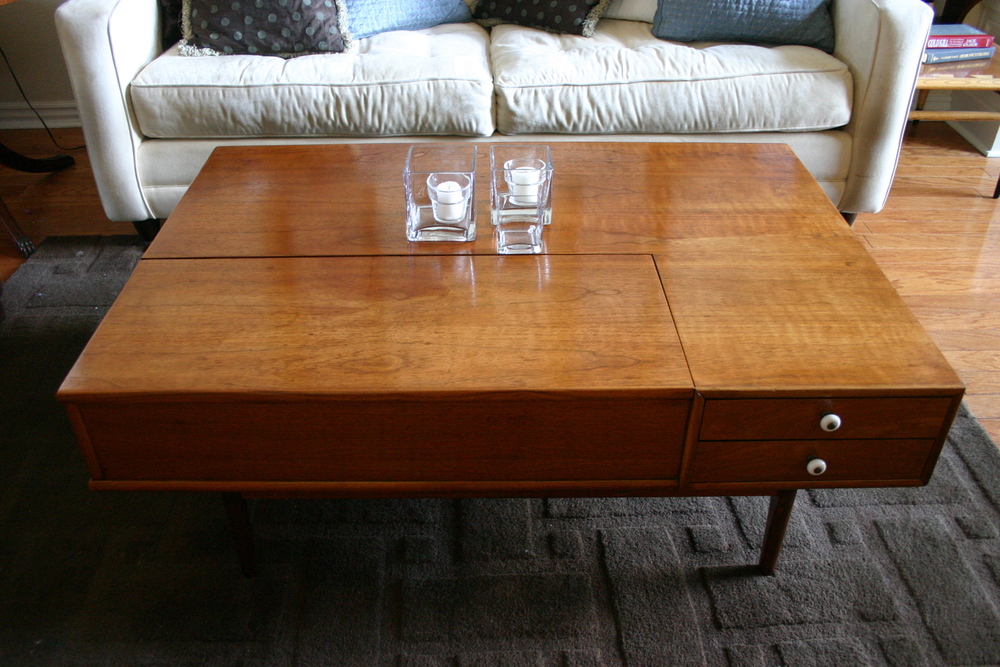 Drexel Declaration Mid Century Coffee Table Beckwiths Treasures - Small mid century modern coffee table