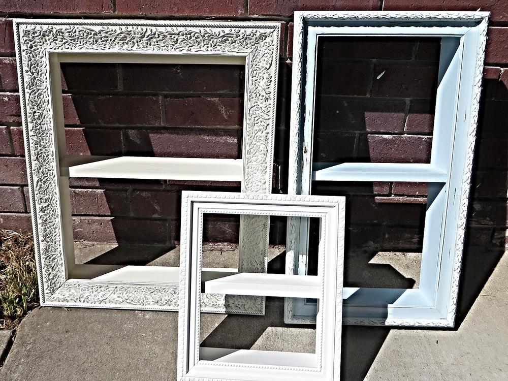 Making frame shelves... — Beckwith\'s Treasures