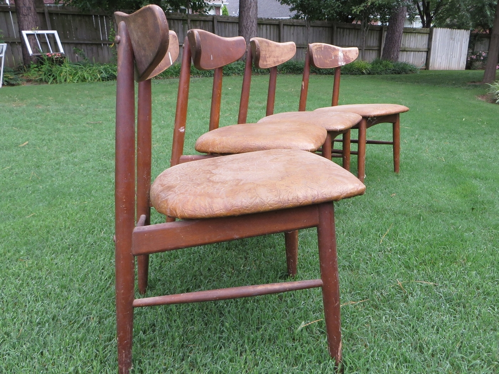 Mid Century Chair SCORE And A Duncan Phyfe Repair