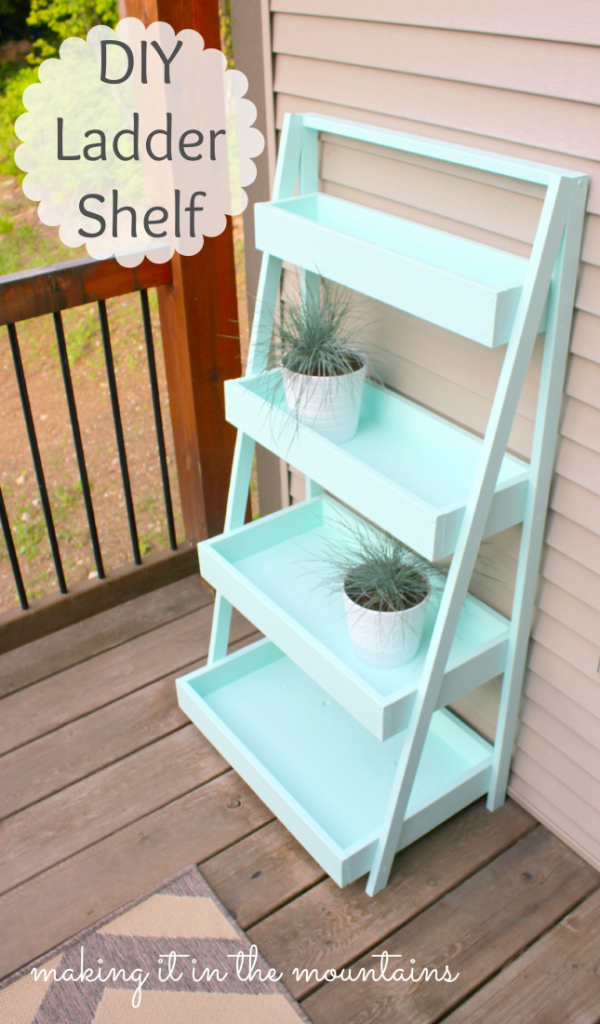 Finding Inspiration For A Ladder Shelf And My Master