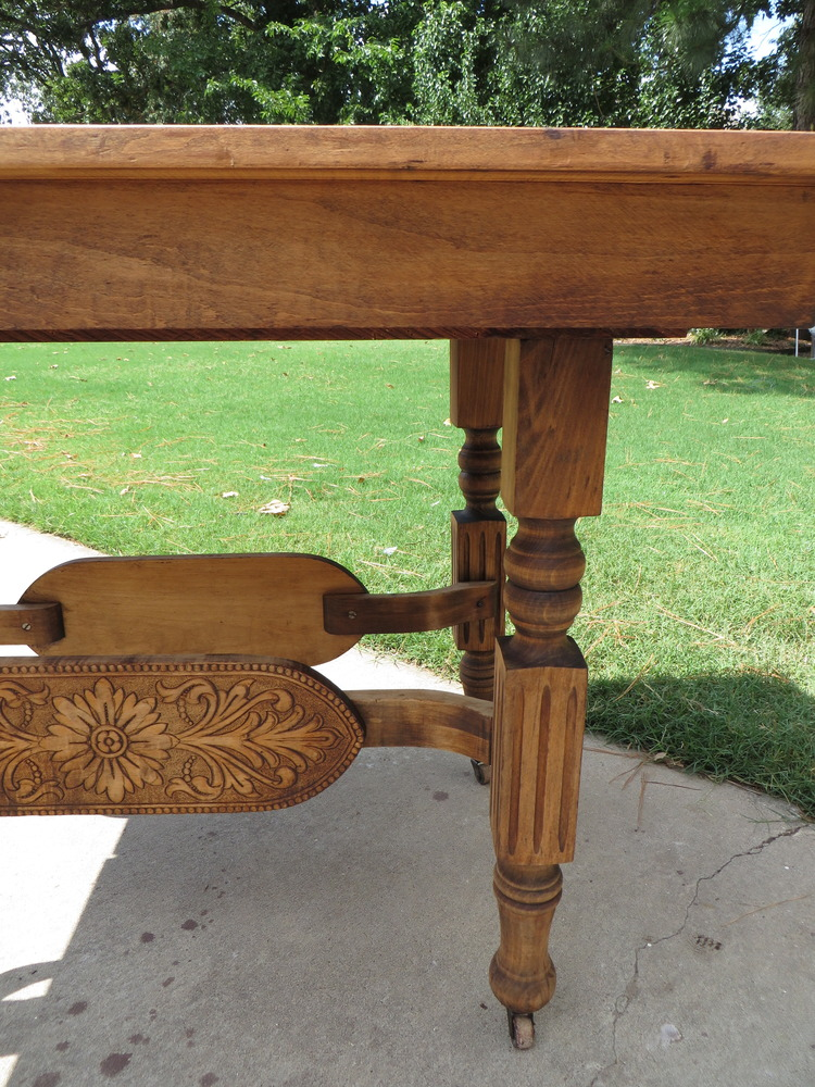 . Refinishing a dining table   a tutorial    Beckwith s Treasures