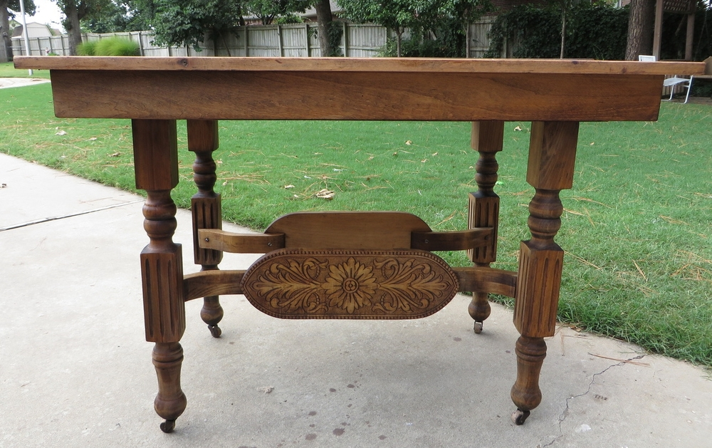 refinishing a dining table a tutorial beckwith s treasures