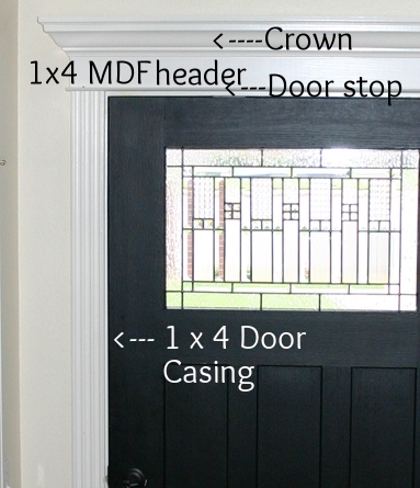 The First Thing You Will Want To Do Is Remove All The Existing Trim And  Nails. If You Have Narrow Trim And You Are Making Your Door Casing Wider  (1x4s Are 3 ...