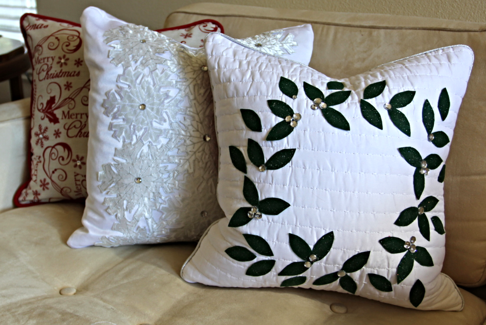Christmas Pillows Beckwith's Treasures Fascinating Decorative Pillow Forms