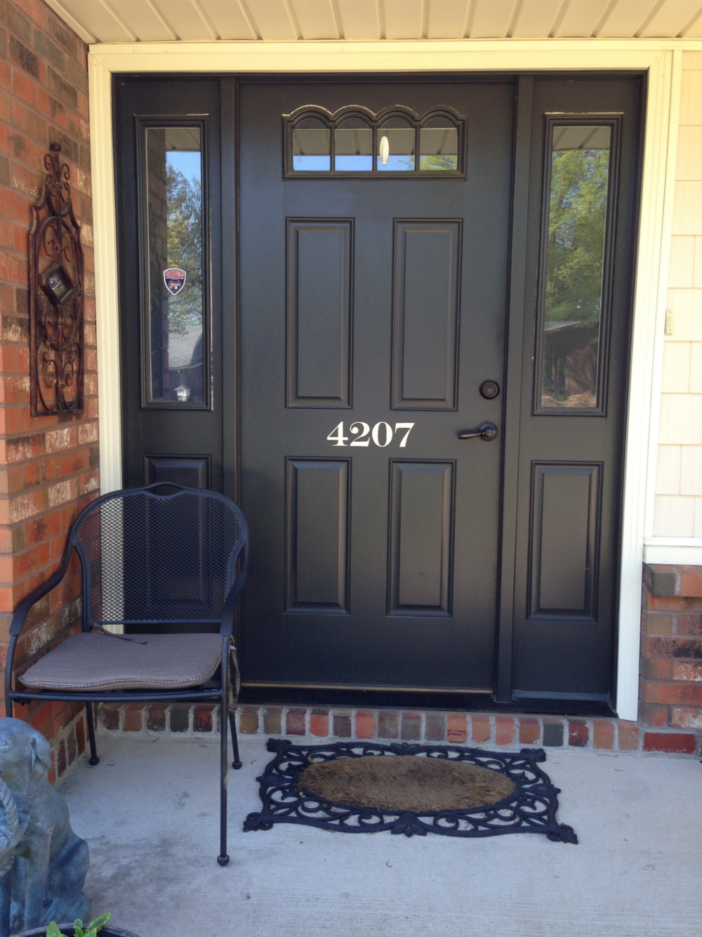 Paint Your Front Door Numbers...the Right Way!