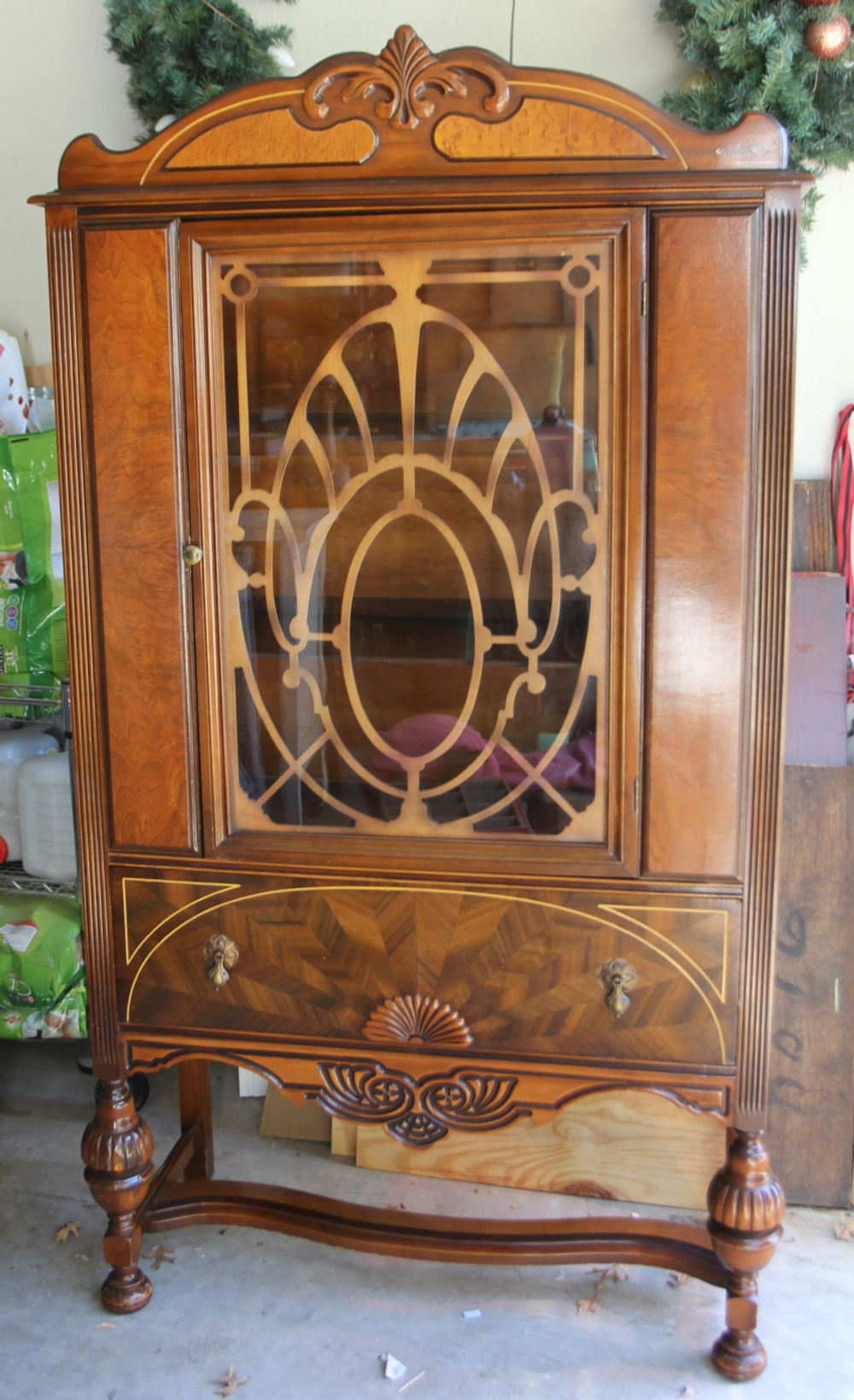 Antique China Hutch >> Antique China Hutch Before And After Beckwith S Treasures