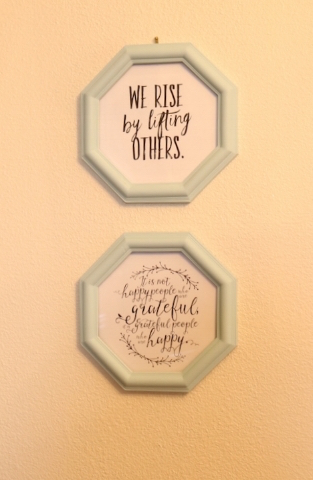 Super simple DIY wall decor.... — Beckwith\'s Treasures