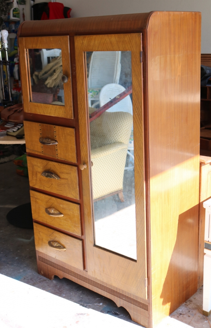Waterfall armoire makeover.... — Beckwith\'s Treasures