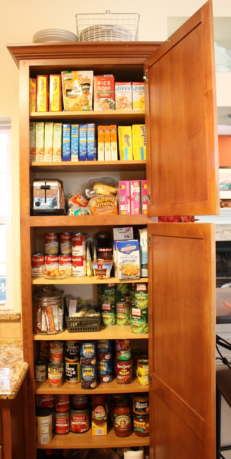 The kitchen pantry...
