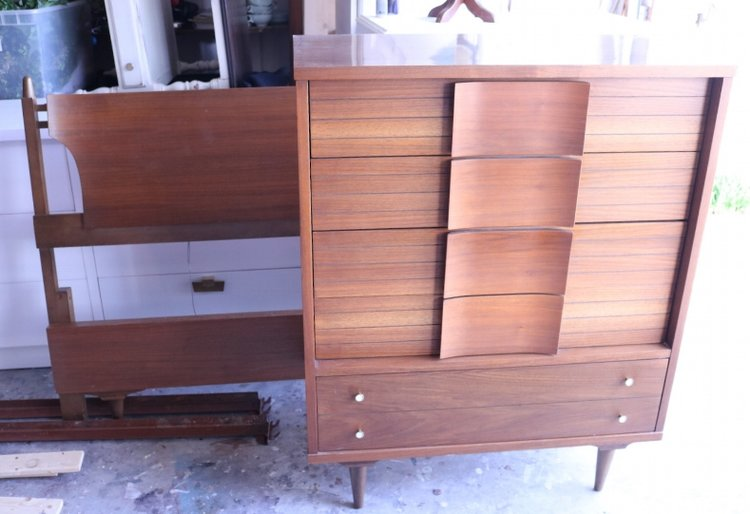 Just ANOTHER mid century dresser! — Beckwith\'s Treasures