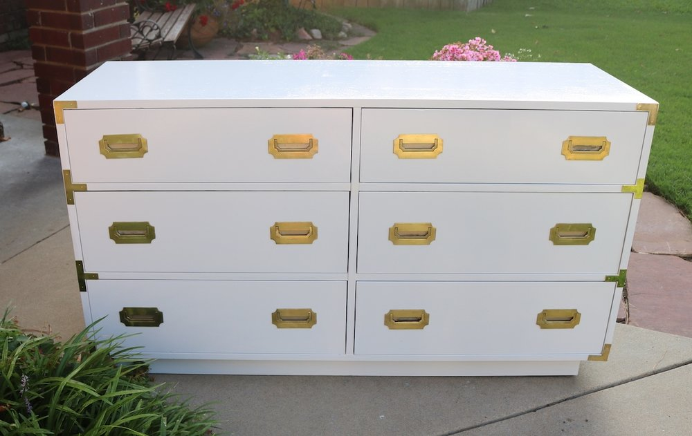 And Another Campaign Dresser Makeover.